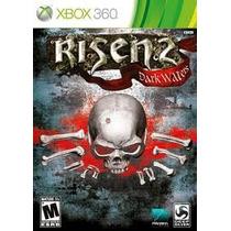 Jogo Xbox 360 Risen 2 Dark Waters Midia Fisica Original