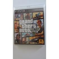 Grand Theft Auto 5 Ps3 Novo E Lacrado
