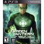 Green Lantern Rise Of The Manhunters Lacrado - Ps3