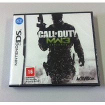 Ds Call Of Duty Mw3 Original - Novo - Lacrado Pronta Entrega