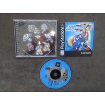 Megaman Mega Man X4 Original E Completo.confira!!