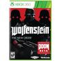 Jogo Wolfenstein The New Order Game Xbox 360 Lacrado Xbox360