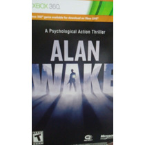 Jogo Para Xbox 360 Alan Wake 25 Dígitos