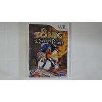 Sonic And The Secret Rings - Wii - Lacrado!