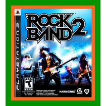 Rock Band 2 Ps3 - Novo Lacrado