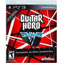 Guitar Hero Van Halen Ps3 - Perfeito, Impecável! Made In Usa