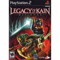 Jogo Legacy Of Kain: Defiance Original Usado Ps2