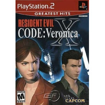 Resident Evil Code Veronica X Ps2 Patch - Compre 1 E Leve 2