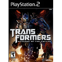 Jogos Ps2 - Transformers - Revenge Of The Fallen