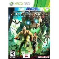 Jogo Xbox360- Enslaved: Odyssey To The West (original/leia)