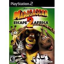 Jogo Ps2 - Madagascar 2 Escape Africa
