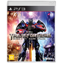 Jogo Transformers: Rise Of The Dark Spark Para Playstation 3