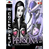 Persona 2 Eternal Punishment Psn Ps3 Midia Digital Original