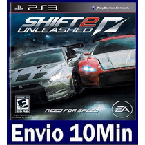 Shift 2 Unleashed - Ps3 - Código Psn