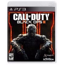 Call Of Duty Black Ops 3 Iii Ps3 Original Play3 Lacrado Novo