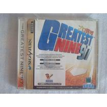 Pro Yakyuu Greatest Nine 97 Sega Saturn Cd Original Game Jpn