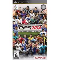 Pro Evolution Soccer 2014 - Pes 2014 - Psp - Novo