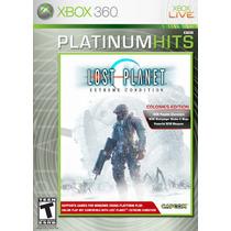 Jogo Para Xbox 360 - Lost Planet Colonies Edition - Original