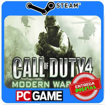 Call Of Duty 4 Modern Warfare Pc Steam Cd-key Cod4 Mw