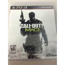 Call Of Duty Mw3 Para Ps3 Novo E Lacrado Mídia Física