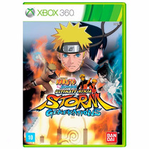 Naruto Shippuden Storm Generations Xbox 360 + Pôster Brinde