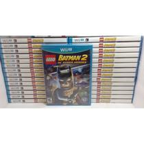 Lego Batman 2 Wii U Midia Fisica, Lacrado Rcr Games