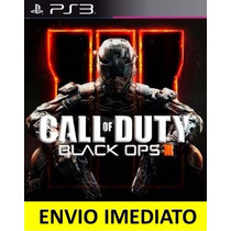 Jogo Psn Call Of Duty Black Ops 3 Ps3 Código Psn Promoção