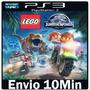 Lego Jurassic World [** Jogo Play3 Ps3 Psn Cod **] Promoção