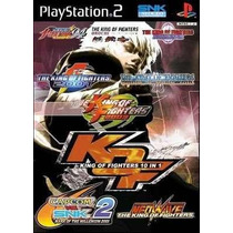 The King Of Fighters 10 In 1 Ps2 Patch Frete Unico