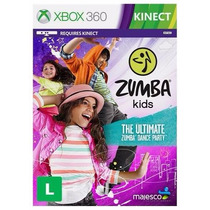 Game Zumba Kids Maj - Xbox 360