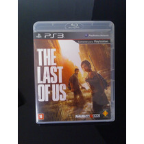 Jogo Ps3 The Last Of Us - Mídia Física - Frete Grátis