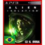 Alien Isolation Ps3 Psn Dublado Portugues Br Oferta!!