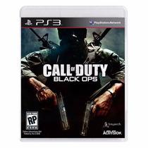 Call Of Duty Black Ops - Ps3 - Mídia Física Novo Lacrado