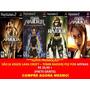 Tomb Raider Underworld Para Playstation 2 (kit 4 Jogos Ps2