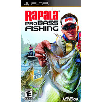 Jogo Rapala Pro Bass Fishing Para Playstation Portatil A5776