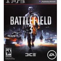 Jogo Battlefield 3 Iii Em Mídia Física Original Para Ps3