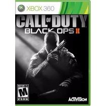Jogo Xbox360 Call Of Duty Black Ops 2 Ii - Original Mídia