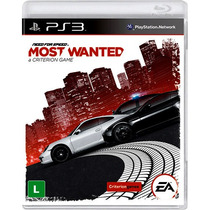 Jogo Need For Speed Nfs Most Wanted Ps3 Midia Fisica Nf