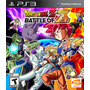 Dragonball Z - Battle Of Z - Ps3 Dragon Ball - Artgames