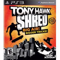 Tony Hawk Shred Ps3 - Ps3 Original