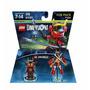Novo Lacrado Lego Dimensions Ninjago Nya Fun Pack