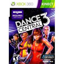 Kinect Dance Central 3 Original Xbox360 Lacrado + Nf + Frete