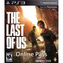 Online Pass - The Last Of Us - Ps3 Artgames