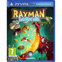 Jogo Novo Lacrado Da Ubisoft Rayman Legends Para Ps Vita