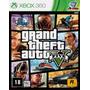 Jogo Xbox 360 - Grand Theft Auto V - Gta 5 - Novo