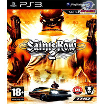 Jogo Ps3 - Saints Row 2 - Novo