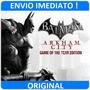 Batman Arkham City Completo Original Steam, Envio Imediato!