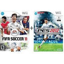 Pes 2012 + Fifa 11 - Midia Fisica, Original E Lacrado - Wii