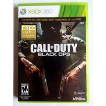 Call Of Duty Black Ops 1 Xbox 360 Original Mídia Física
