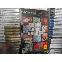 Grand Theft Auto Iii Gta 3 - Original - Lacrado - Ps2